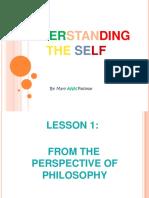 Understanding the Self 1