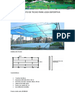 Presupuesto de Techo Para Loza Deportiva (Autoguardado)