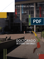 Doctorado Estudios Territoriales