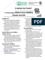 Protecting Children From Wildfire Smoke and Ash