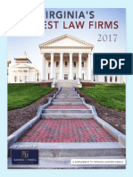 Virginia's Largest Law Firms, 2017