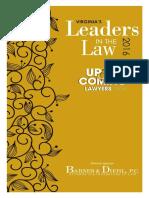 Virginia's Leaders in the Law 2016