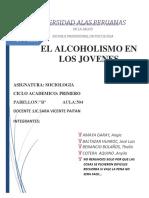 Acoholismo en La Adolescencia Final Thalia VanessaANGIE