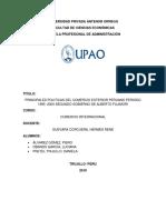 1995 - 2000 Segundo Gobierno de Alberto Fujimori