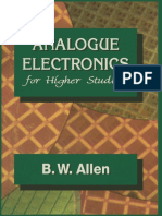 B. W. Allen (Auth.) - Analogue Electronics for Higher Studies-Macmillan Education UK (1995)