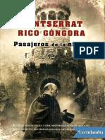 Pasajeros de La Niebla - Montserrat Rico Gongora