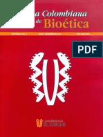REVISTA COLOMBIANA DE BIOETICA