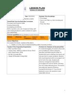 design brief lesson plan