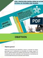 Presentación Programa de Trabajo Seguro en Alturas