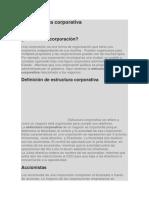 La Estructura Corporativa