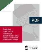 Análisis y creación de materiales de ELE