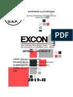 Informe - EXCON2019