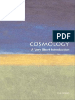 Cosmology a Very Short Introduction