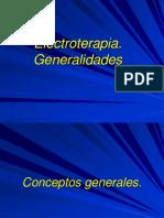 Electroterapia generalidades