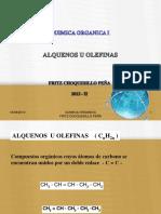Alquenos y Alquinos 2013-II