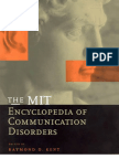 Encyclopedia of Communication Disorders