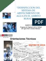 5. Desinfeccion Sistemas de Agua