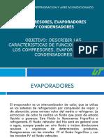 Compresores, Evaporadores y Condensadores