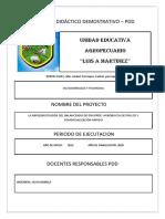 Proyecto Didáctico Demostrativo Ana a (1)
