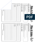 Fichas de Vlectura