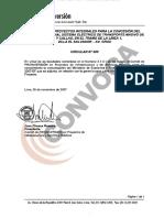 Carta de Luis Carranza a Proinversión