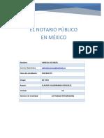 El Notario Público en México