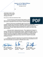 CA HSR Letter to Lahood 11.18