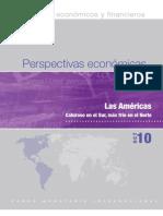 Perspectivas económicas FMI