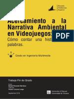Acercamiento a La Narrativa Ambiental en Los Video FINESTRAT MARTINEZ DANIEL