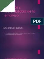 Finanzas y Sostenibilidad de La Empresa