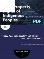 Land Property Rights of Indigenous Peoples