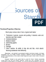 Sources of Starch