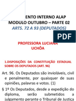 REGIMENTO INTERNO ALAP MÓDULO OUTUBRO - PARTE 2 - DEPUTADOS.pptx