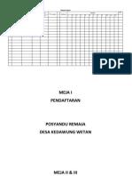Form Pendaftaran Posrem