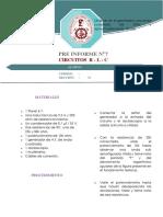 Informe Previo 7 Circuito Rlc
