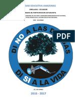 Informe Campo de Acción Drogas y Alcohol
