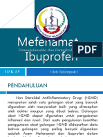Idk IV - Farmakokinetika Dan Farmakodinamika Asam Mefenamat Dan Ibuprofen