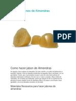 Las Almendras Hechas Jabon