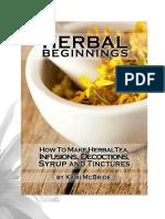 Herbal Beginnings