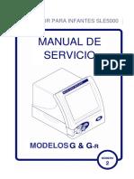 Manual de Servicio Ventilador SLE5000
