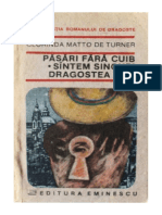 Clorinda Matto de Turner - Pasari fara cuib Suntem singuri dragostea mea  #1.0~5.doc