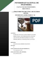 Mecánica de Fluidos Informe 2 Version Final