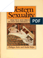 [Family, Sexuality & Social Relations in Past Times] by Philippe Aries (Author), Andre Bejin (Author) - Western Sexuality_ Practice and Precept in Past and Present Times (1986, Blackwell Pub_ Reprint Ed