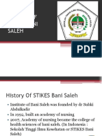 Profile of Stikes Bani Saleh