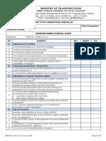 DGCA Form 91-11 Part 91_141 Inspection Checklist - Airworthiness Surveillance - June 2019