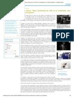 Yordan Quiroz_ Hacer Perfomance en Chile No Es Complicado, Pero Conlleva Prejuicios - Facultad de Artes