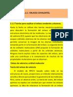 2.1.2 Clasif. de Enlaces Quim.