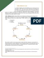 Gibbs Reflective Cycle - Guidelines
