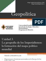 Unidad 3 La geografía de los imperialismos (Avances)