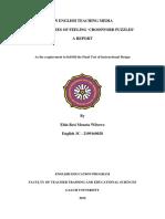 Elda 3c an English Teaching Media Report - Id